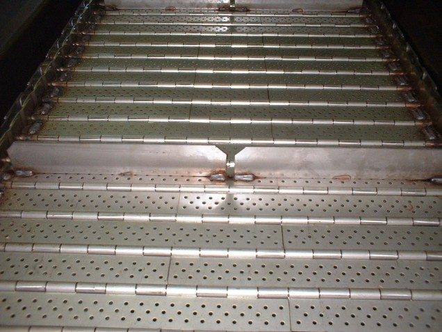 May Conveyor Specialty Belt 2.5 Stainless